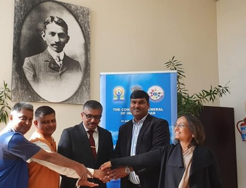 Official media Launch Of International Yoga Day