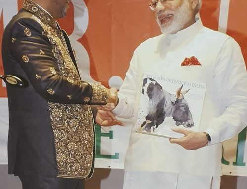 King Zwelithini Goodwill KaBhekuZulu, King Of The Zulu Nation Congratulates The Prime Minister of the Republic of India
